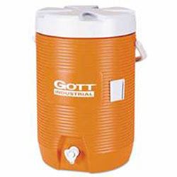 Gott Water Coolers, 3 gal, Orange