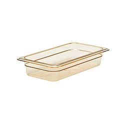 Cambro Food Pan 1/3 X 2 in H-Pan® Amber