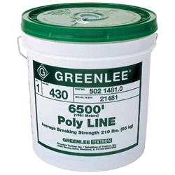 Greenlee Poly Line, 6500 Feet