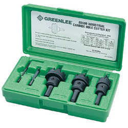 Greenlee Carbide Cutter Kit