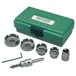 Greenlee Carbide Hole Saw Kit
