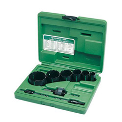 "Greenlee Hle Saw Kit 1/2""- 2"