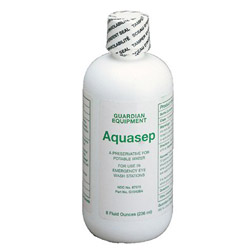 Guardian Additive for Portable Emergency Eyewash Stations, 8oz Bottle