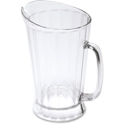 Rubbermaid Bouncer II Plastic Pitcher, 60 oz, Clear
