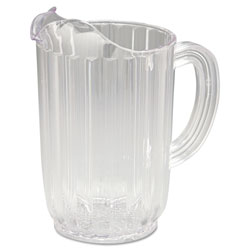 Rubbermaid Clear Bouncer Pitchers 32 Oz.