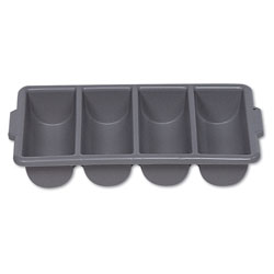 Rubbermaid Gray Four Compartment Bin