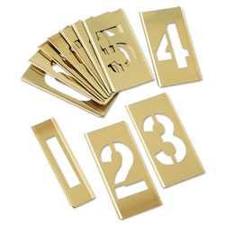 "C.H. Hanson 3"" Number Set 15 Piece"