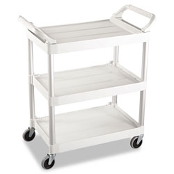 Rubbermaid Off-White Light Duty Utility Cart