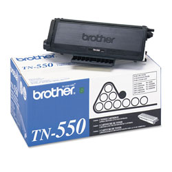 Brother TN550 Toner Cartridge - 1 x Black - 3500 Pages