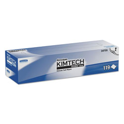 Kimtech™ SCIENCE® Cleaning Wipes, White, Case of 15