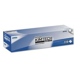 Kimtech* Kimwipes Delicate Task Wipers, 3-Ply, 11 4/5 x 11 4/5, 119/Box, 15 Boxes/Carton