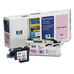 HP 83 Magenta Ink Cartridge ,Model C4965A ,Page Yield 1100