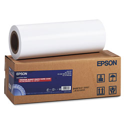"Epson Premium Glossy Photo Paper - Resin Coated Glossy Photo Paper - Bright White - Roll (16"" x 100') - 252 G/m2"