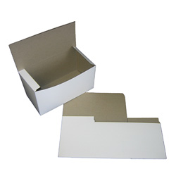 "BOXit White Bakery Box, 9"" x 5"" x 4"""