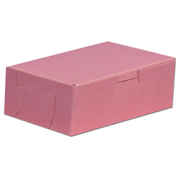 BOXit Pink Bakery Box, 14 in x 10 in x 4 in