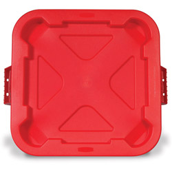 Rubbermaid Red Brute Snaplock Lid Fits 3526