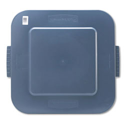 Rubbermaid Square Brute Container Lid, Gray