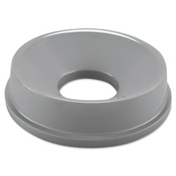 Rubbermaid Round Funnel Top, Gray