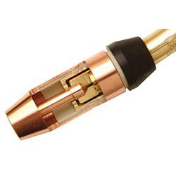 Bernard Centerfire Nozzles, 1/8 in Tip Recess, 5/8 in, Copper, For Q-Gun