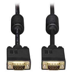 Tripp Lite VGA Coaxial High-Resolution Monitor Cable with RGB Coaxial (HD15 M/M), 6 ft.