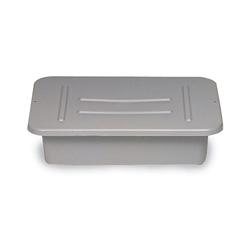 Rubbermaid Gray Lid For Bus/Utility Box