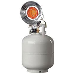 HeatStar Portable Propane Radiant Heaters, 14,000 Btu/h, 1.5 h
