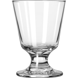 Libbey 3747 7 Ounce Embassy Footed Rocks Glass