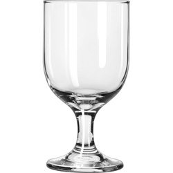Libbey Embassy 10.5-Oz Wine Goblet, Case of 24