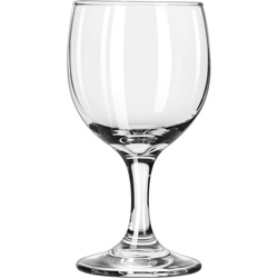 Libbey Embassy Round Bowl 8.5 oz Wine Glass, Case of 24