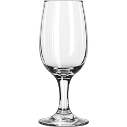 Libbey Embassy Pear Bowl 6.5-Oz Wine Glass, Case of 36