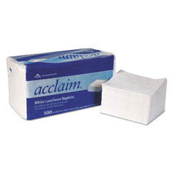 Dixie Napkins, White, 1 Ply, Case of 6000
