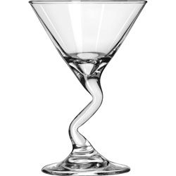 Libbey 37719 5 Ounce Satin Collection Z Stem Martini Glass