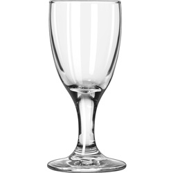 Libbey Embassy Brandy Glasses, Sherry Glass, 3 oz, Clear, 12/Carton