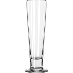 Libbey Catalina Footed Beer Glasses, Tall Beer, 14.5oz, 9 3/8 in Tall, 24/Carton