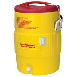Igloo Heat Stress Solution Water Coolers, 10 Gallon, Red and Yellow