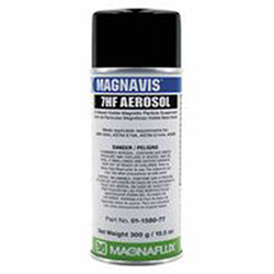 Magnaflux 7HF Visible Magnetic Particle Wet Method Prepared Bath, Black,16oz Aerosol