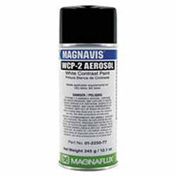 Magnaflux Magnavis WCP-2 Contrast Paint, White, 16 oz Aerosol