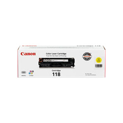 Canon Cartridge 118 - Toner Cartridge, Yellow