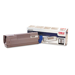 Okidata Type C8 Toner Cartridge - 1 x Black - 6000 Pages