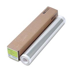 HP Designjet Inkjet Large Format Paper, 24 in x 75 ft, Clear
