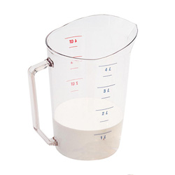 Cambro Clear Measuring Cup, 4 Quart