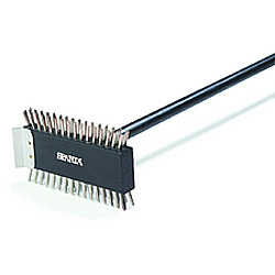 Carlisle Foodservice Products 40290 Broiler Master Brush with Stainless Steel Bristles, 3 1/2""