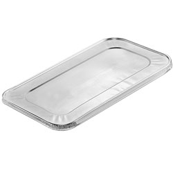 Handi-Foil Lid with Full Curl Edge for Third Steam Table Pan
