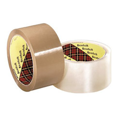 "Scotch Box Sealing Tape371 Tan 48 mm"" x 50m"