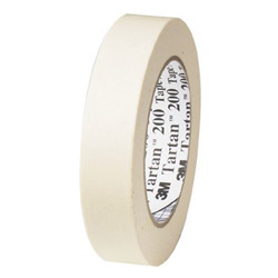 Tartan™ Tartan 200 Masking Tape, Natural, 48mm x 55m, 5.5mil