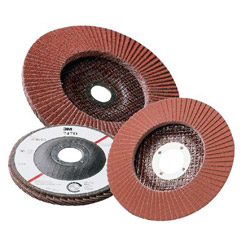 "3M 051111-49616 4-1/2"" x 7/8"" 80 Grit Flap Disc"