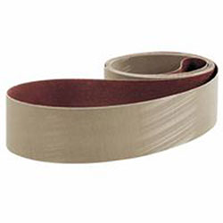 3M Cloth Belts, 3 in X 132 in, A30, Aluminum Oxide