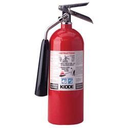 Kidde Safety ProLine Pro 10 Carbon Dioxide Fire Extinguisher, 10lb, 10-B:C