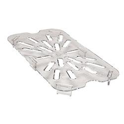 Cambro Food Pan Drain 1/4 Camwear® Clear