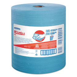 WypAll® X80 Shop Rags Roll, Blue